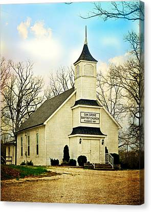 Canvas Print featuring the photograph Church 12 by Marty Koch