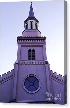 Church Canvas Print by Andrea Anderegg