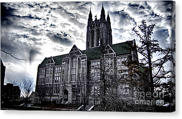 Church At Boston College Canvas Print
