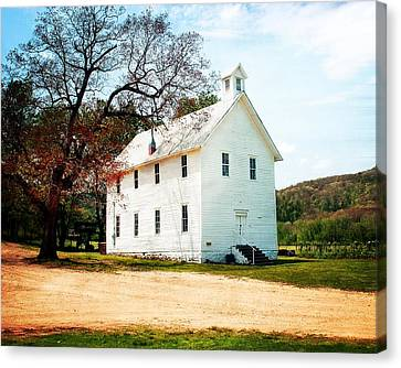 Canvas Print - Church At Boxley by Marty Koch