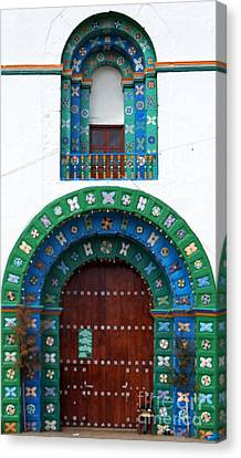 Church At San Juan Chamula 2 Canvas Print