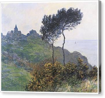Church At Varengeville Canvas Print by Claude Monet