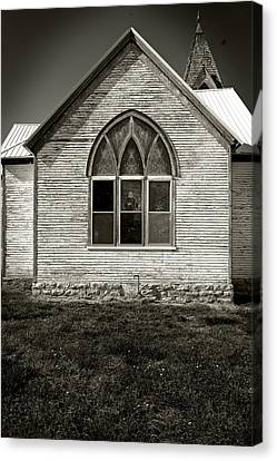 Church Canvas Print by Bud Simpson