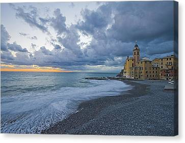Church By The Sea Canvas Print