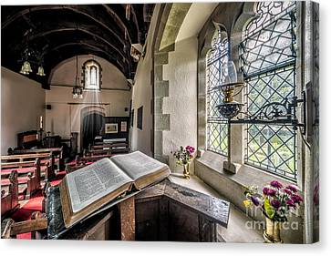 Church Chronicles Canvas Print by Adrian Evans