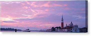 Church In A City, San Giorgio Maggiore Canvas Print by Panoramic Images