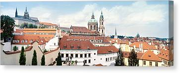 Church In A City, St. Nicholas Church Canvas Print by Panoramic Images