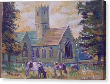 Church In Adare Canvas Print by Paul Weerasekera