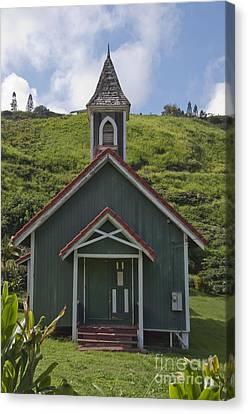 Church In Maui Canvas Print
