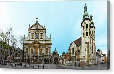 Church In Old Town, St. Peter Church Canvas Print