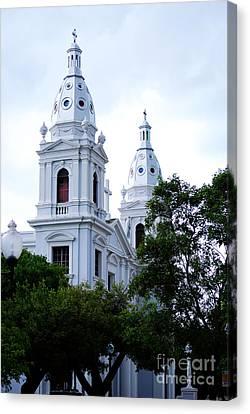 Church In Puerto Rico Canvas Print