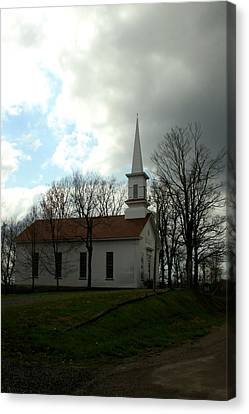 Church In The Country Canvas Print