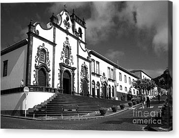 Church In Vila Franca Do Campo Canvas Print by Gaspar Avila