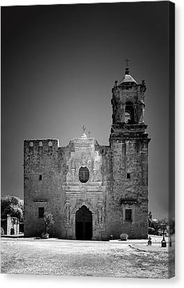 Historic Site Canvas Print - Church Mission San Jose by Christine Till