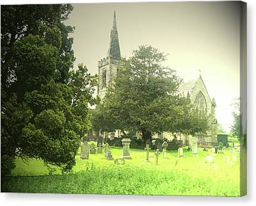 Church Of All Saints, Mackworth, This Church Stands Canvas Print by Litz Collection