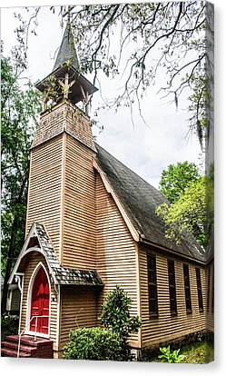 Church Of Atonement Canvas Print by Steven  Taylor