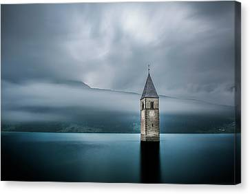Church Of Graun Canvas Print