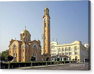 Church Of Jesus The Saviour Canvas Print by Ladi  Kirn