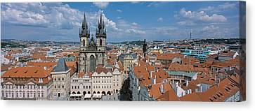 Church Of Our Lady Before Tyn, Old Town Canvas Print by Panoramic Images