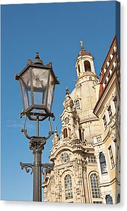 Church Of Our Lady Dresden, Germany Canvas Print by Michael Defreitas