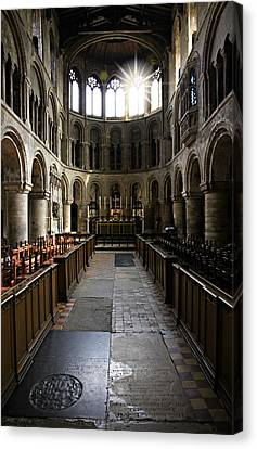 Church Of St Bartholomew The Great Canvas Print by Stephen Stookey