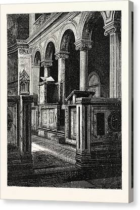 Church Of St. Clemente Canvas Print