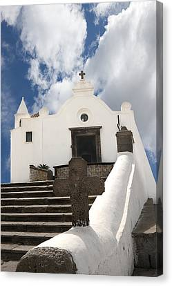 Church Of St. Francis Forio Ischia Italy Canvas Print by Xavier Cardell