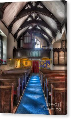 Church Of St Mary Canvas Print by Adrian Evans