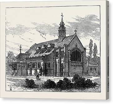Church Of St. Michael And All Angels Bedford Park Chiswick Canvas Print by English School
