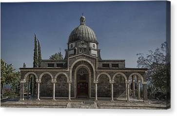 Church Of The Beatitudes Canvas Print by Stephen Stookey