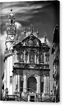 Church Of The Clergy Canvas Print by John Rizzuto
