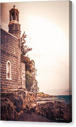 Church Of The Loaves And The Fishes Canvas Print by Dustin Abbott