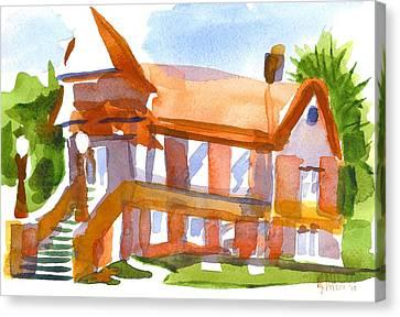 Church On Shepherd Street 4 Canvas Print by Kip DeVore