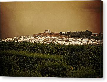 Church On The Hill - Andalusia Canvas Print by Mary Machare