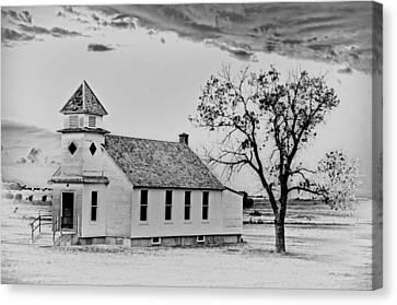 Church On The Plains Canvas Print by Marty Koch