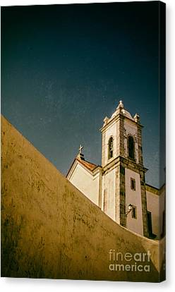 Church Over Wall Canvas Print