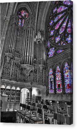 Christian Sacred Canvas Print - Church - The Cathedral Of Dreams II by Lee Dos Santos