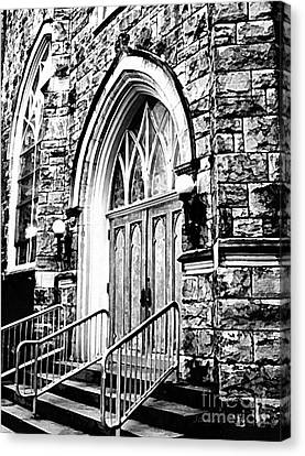 Church Timeless Appeal Canvas Print by Janine Riley