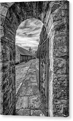 Church Way V2 Canvas Print by Adrian Evans