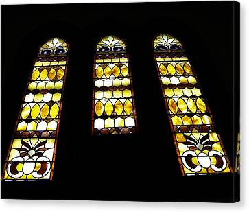 Church Windows Canvas Print by Image Takers Photography LLC - Laura Morgan