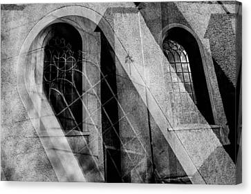 Church With Window Canvas Print