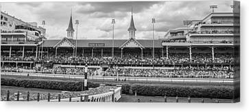 Churchill Downs And Twin Spires  Canvas Print by John McGraw