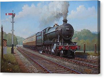 Churchward 2.8.0  Canvas Print by Mike  Jeffries