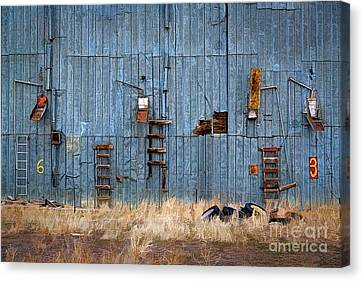 Chutes And Ladders Canvas Print by Jon Burch Photography