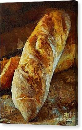 Ciabatta Canvas Print by Dragica  Micki Fortuna
