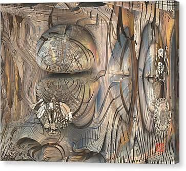 Cicada Canvas Print by David Jenkins