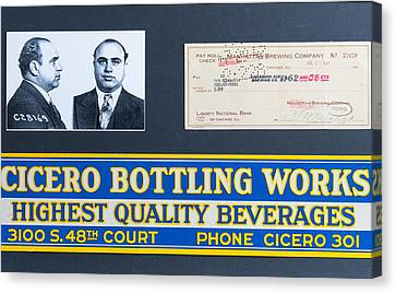 Cicero Bottling Works Chicago Brewing Canvas Print by Kurt Olson