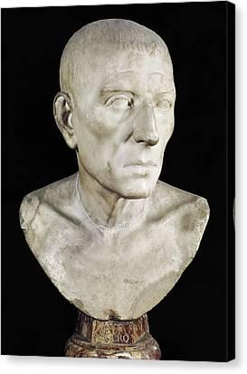 Cicero, Marcus Tullius 106-43 Bc. Roman Canvas Print by Everett