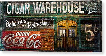Cigar Warehouse Canvas Print