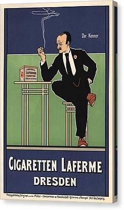 Cigaretten Laferme Dresden Canvas Print by Gianfranco Weiss